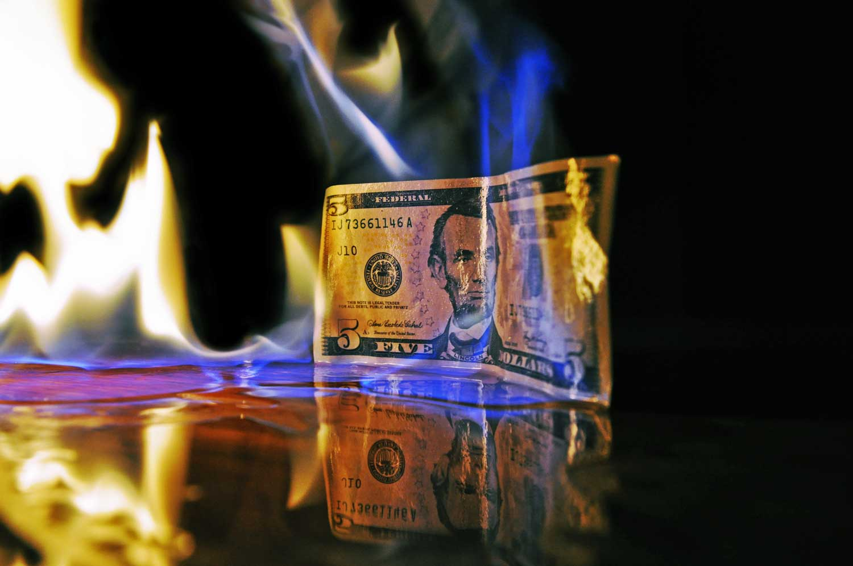 billete no se quema
