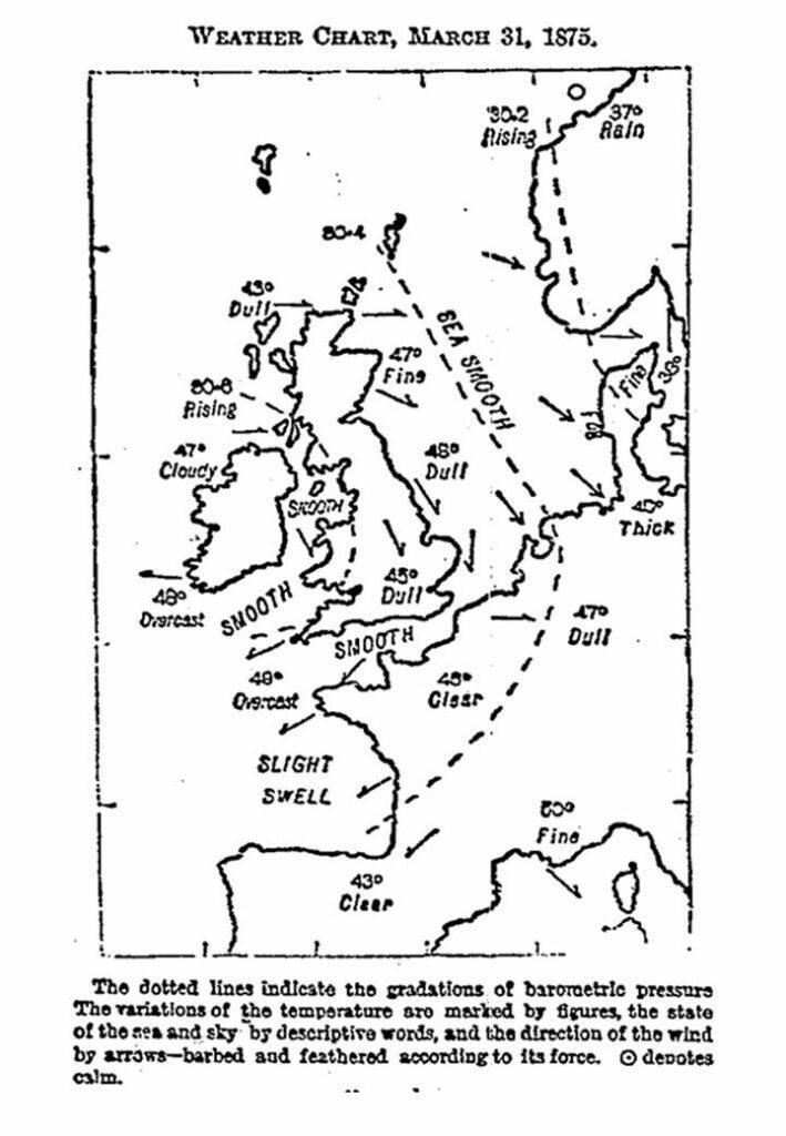 1er mapa meteorológico