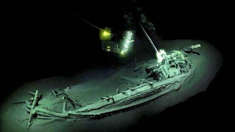 Decubren el pecio intacto más antiguo del mundo