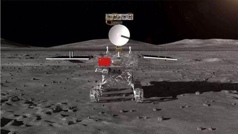 China ha aterrizado en la cara oculta de la Luna