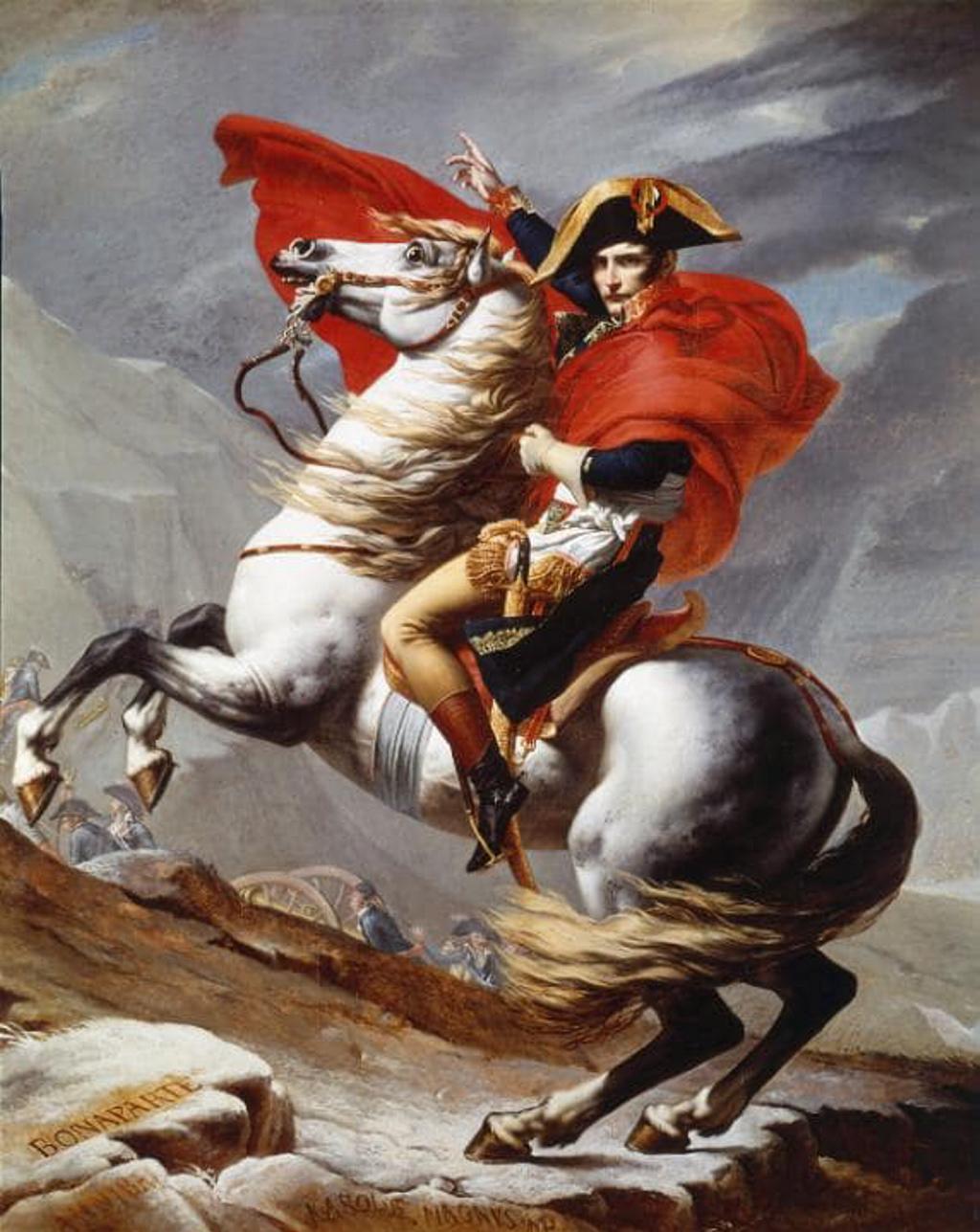 ¿A quién pertenecen los restos del caballo de Napoleón?