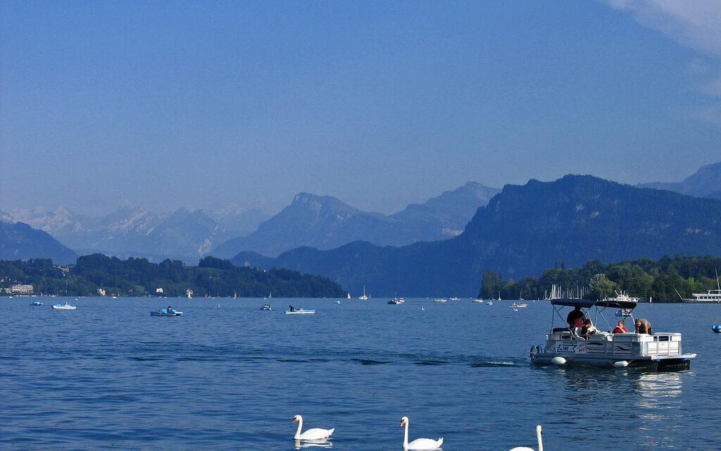 Alertan de riesgo de tsunami… ¡en Suiza!