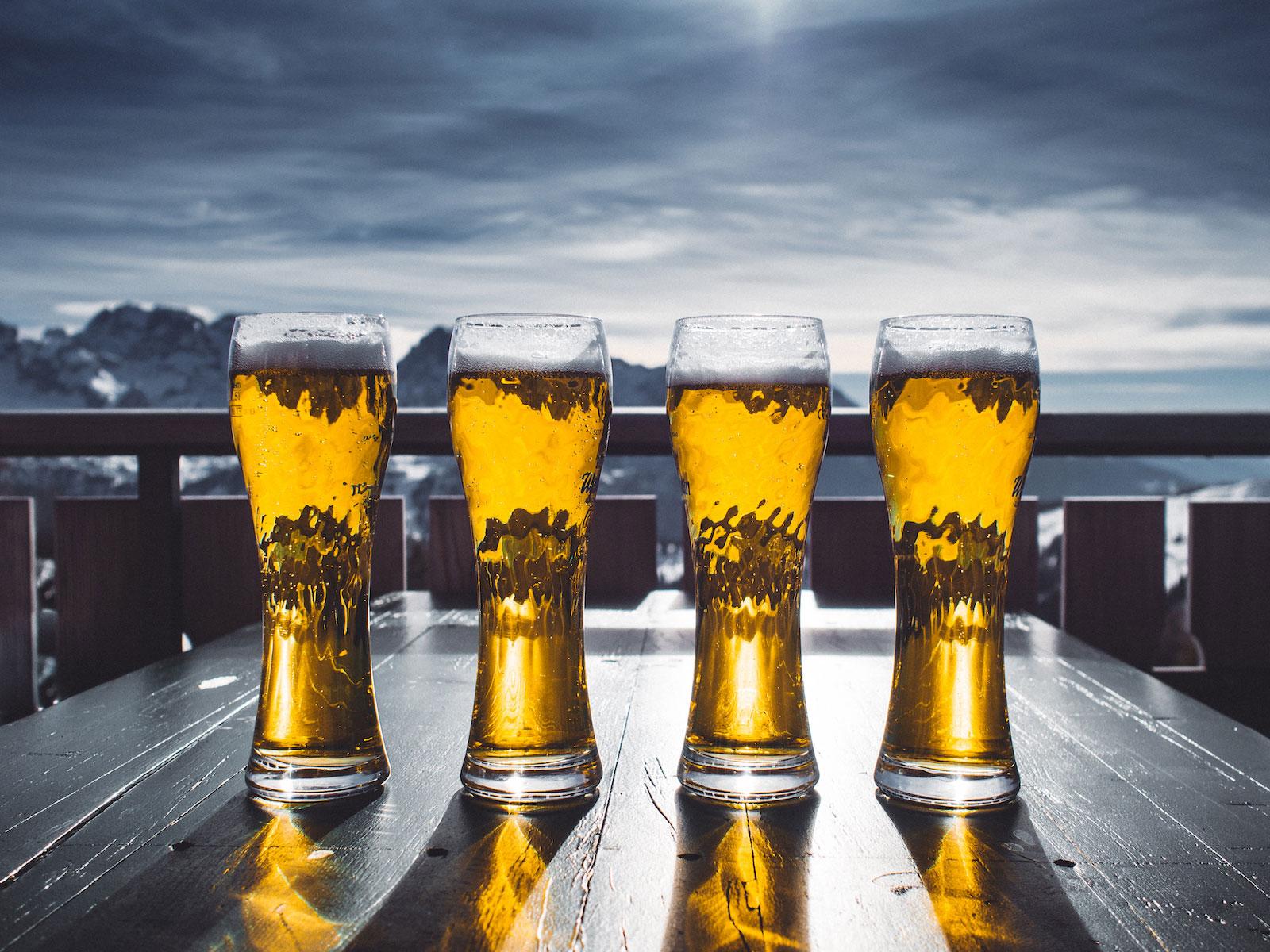 ¿Alimenta la cerveza?