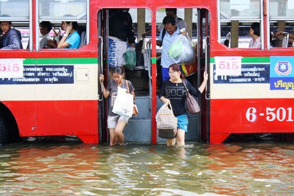 Antes que Venecia, la que se hunde es Bangkok