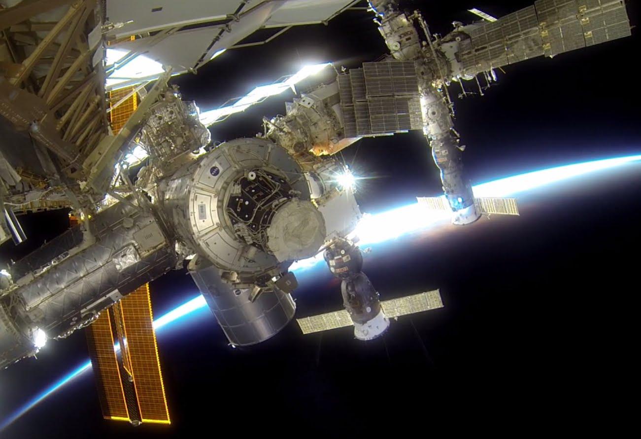 Así de increíble es un paseo espacial