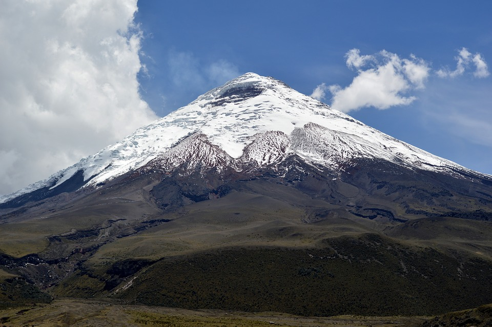Así es como respiraba el volcán ecuatoriano Cotopaxi