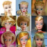 Así ha «evolucionado» la muñeca Barbie en los últimos 56 años