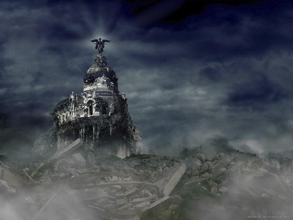 Así quedarían las grandes ciudades tras un apocalipsis mundial