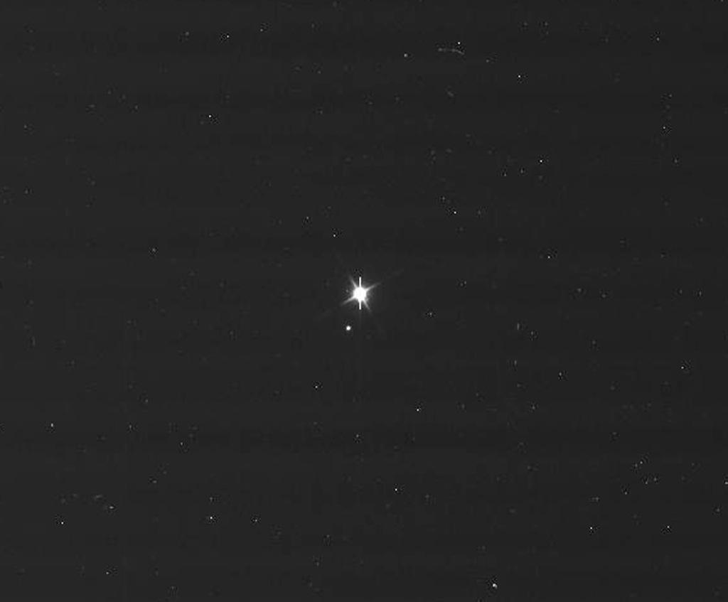 Así se nos ve desde Saturno