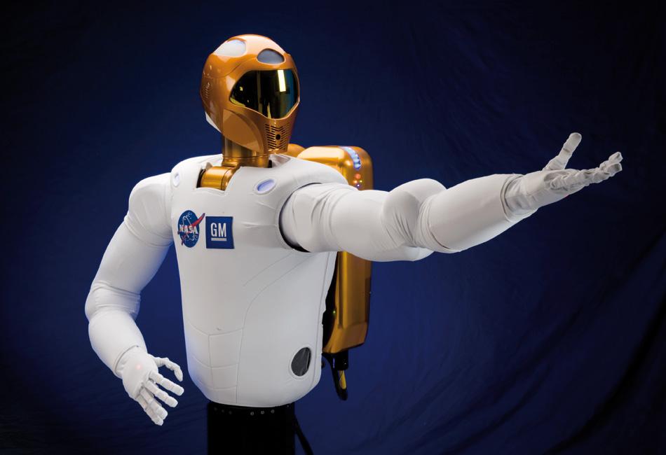 Astronauta robot