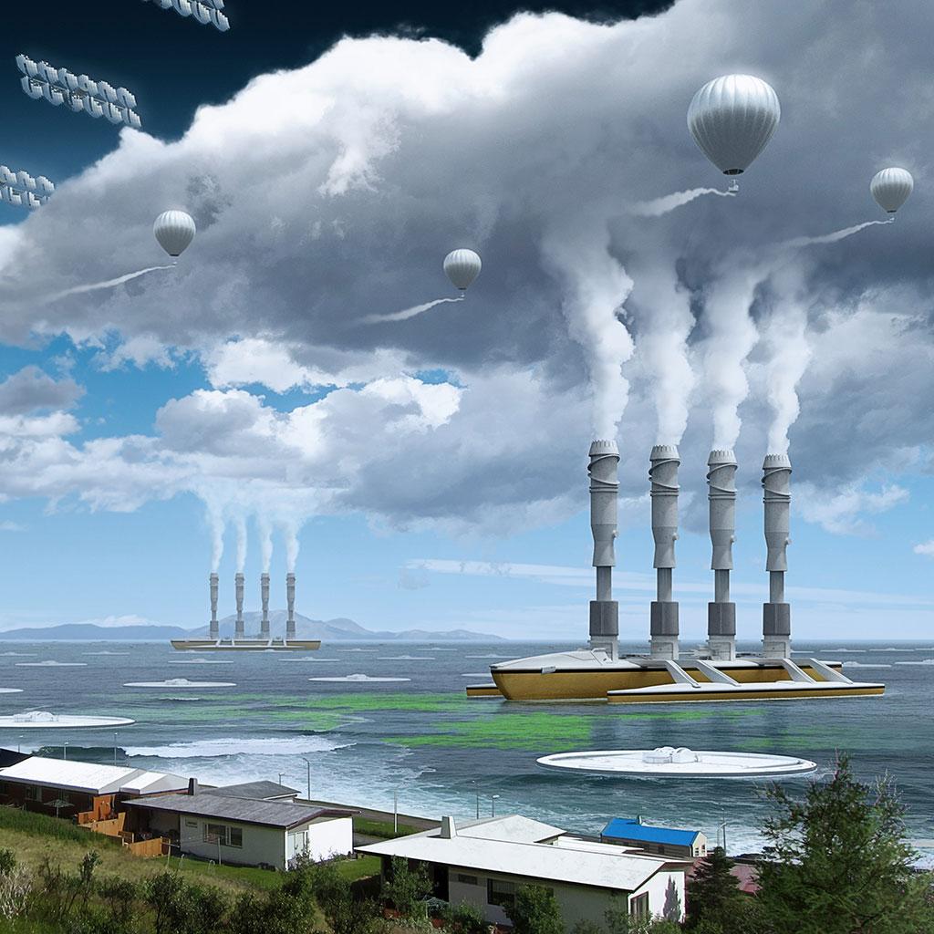 Bajar la temperatura del planeta manualmente? Los proyectos más locos para controlar el clima - Quo