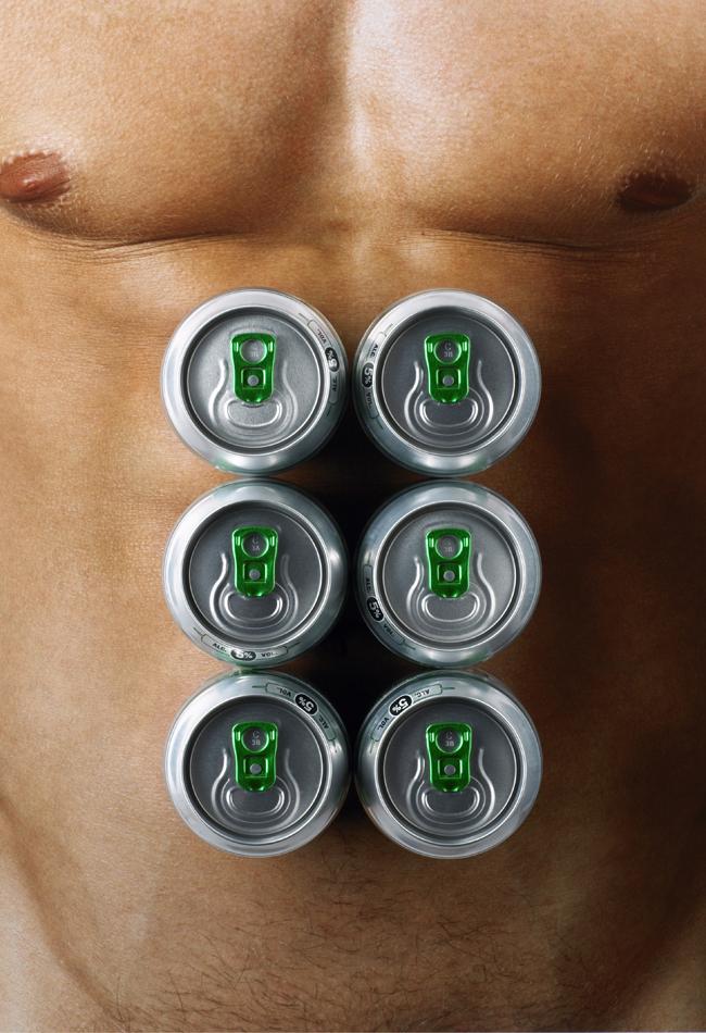 Barriga ¿cervecera?