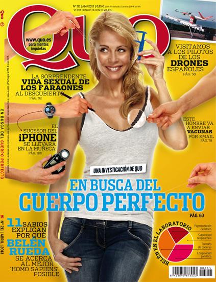 Belén Rueda, portada de QUO