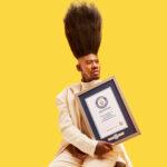 Benny Harlem tiene la high top face más alta del mundo