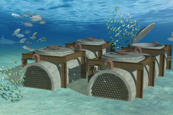 Bodega submarina del futuro