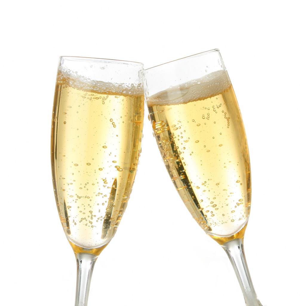 Burbujas de champán para producir electricidad