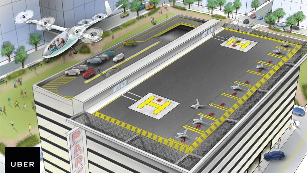 Cambia la NASA por Uber para construir taxis voladores