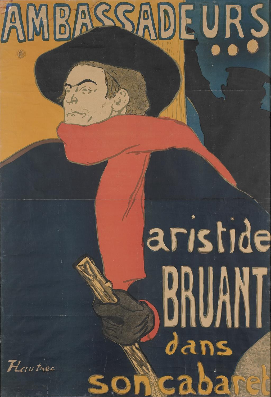 Los maravillosos pósteres de Toulouse-Lautrec llegan a España