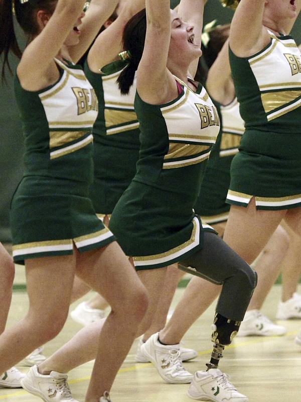 Cheerleader pese a todo