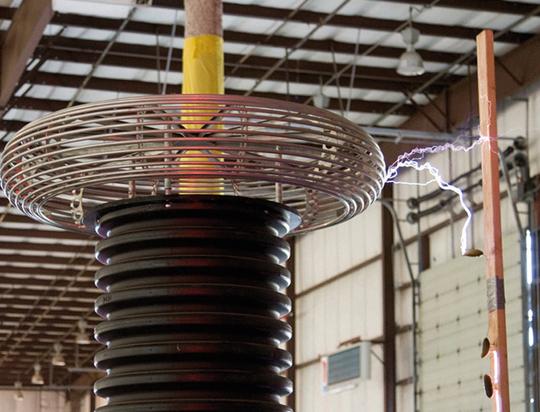 Salchichas a la bobina Tesla