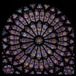 ¿Cómo está hecha la vidriera de una catedral?