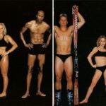 Comparación de cuerpos de atletas olímpicos