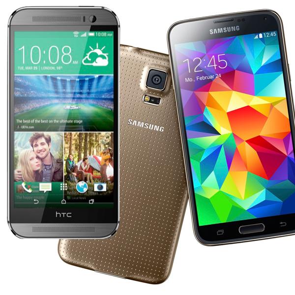 Comparativa: HTC One M8 contra Samsung Galaxy S5