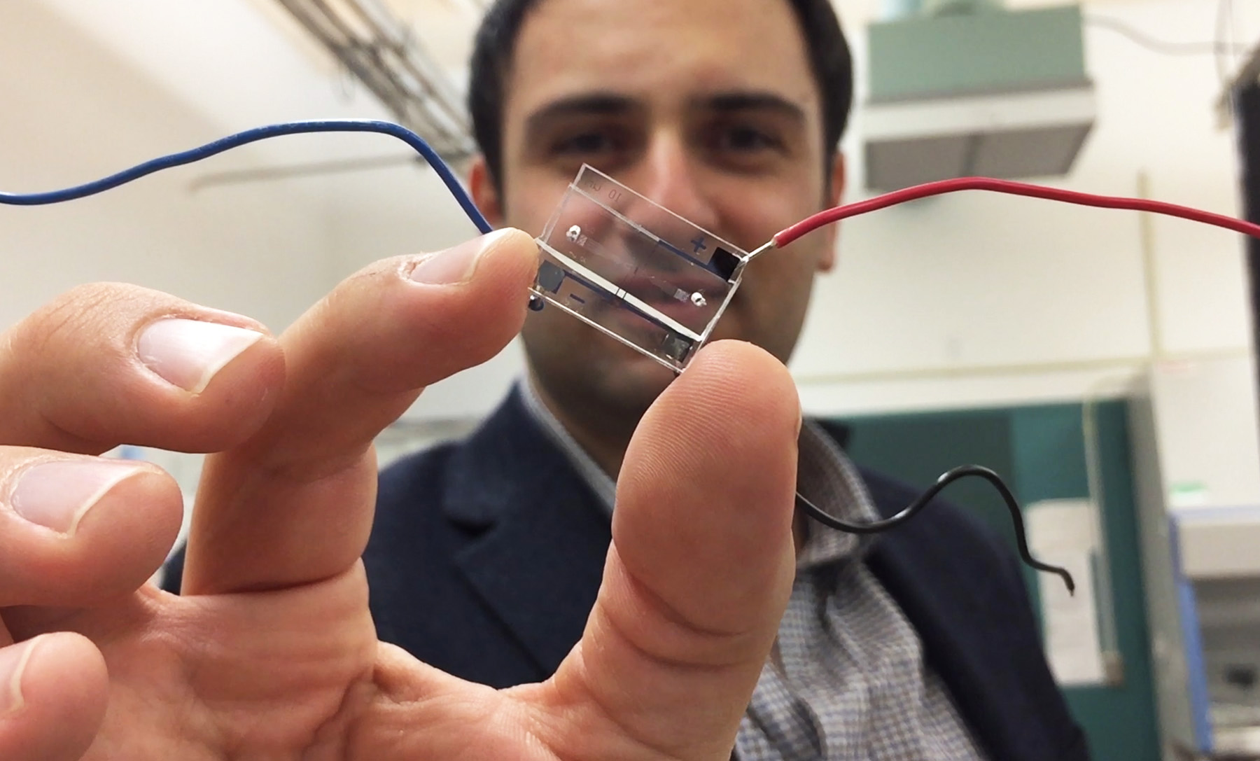 Crean un laboratorio en un microchip