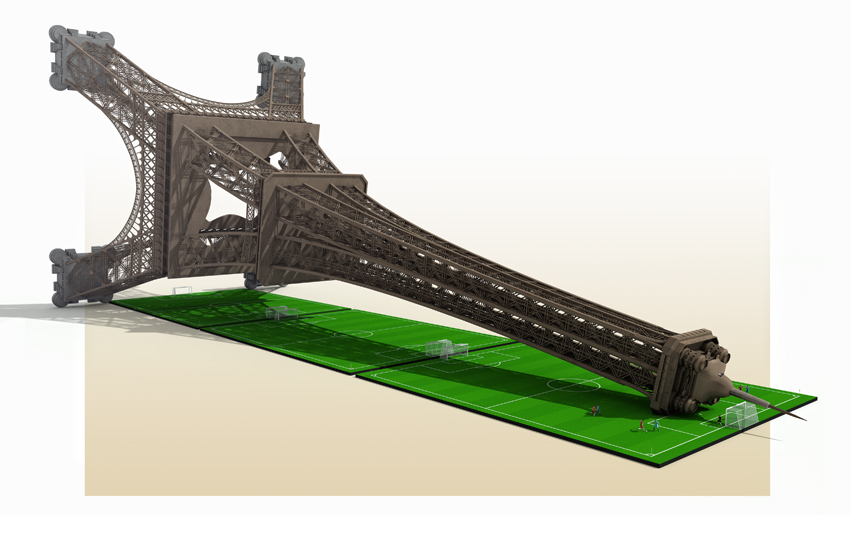 ¿Cuánto mide la Torre Eiffel?