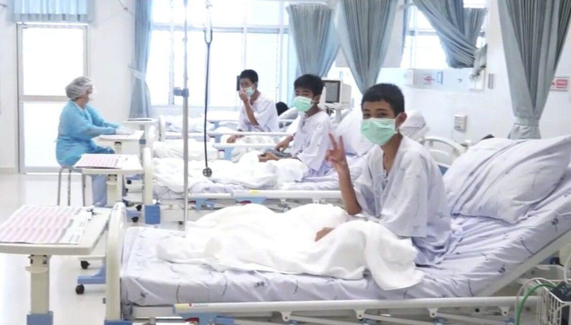 ¿Cuánto peso han perdido los 12 niños que han sobrevivido en la cueva tailandesa?