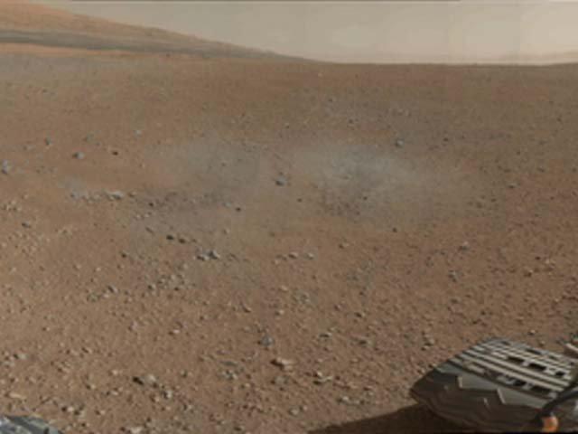 Fotos a color de Marte