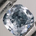 ¿De dónde viene el azul en algunos diamantes?