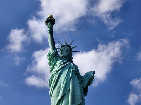 ¿De qué color es realmente la Estatua de la Libertad?