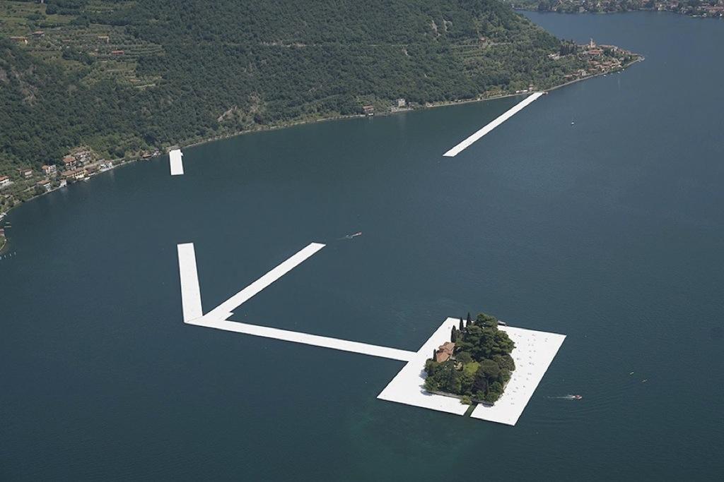 Dentro de poco podrás caminar por este lago italiano