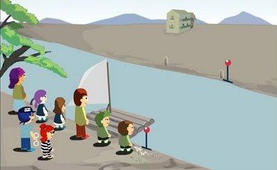 Desafío matemático: Cruzando el río