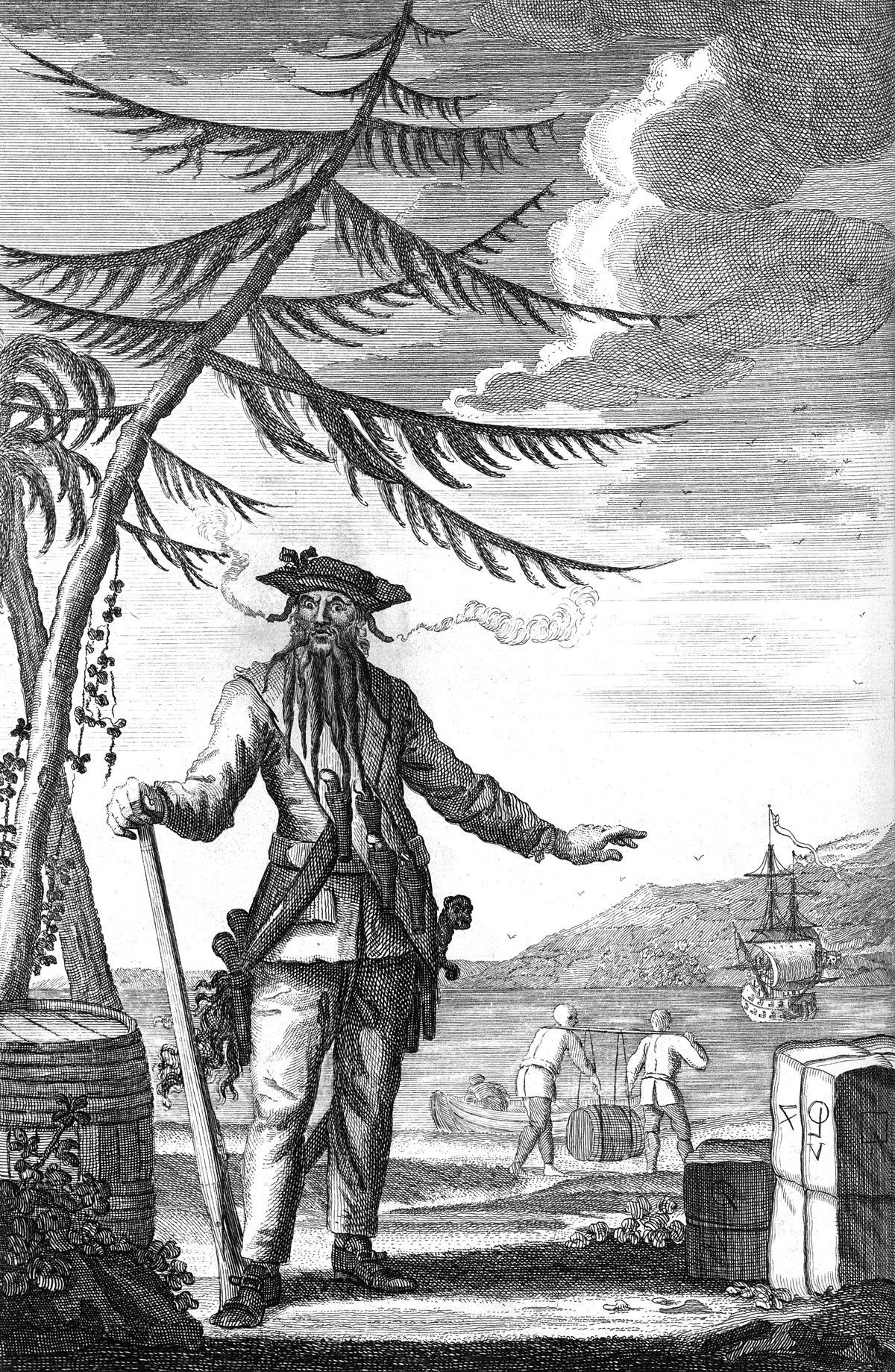 Descubren fragmentos de un libro que estaba leyendo el pirata Barbanegra