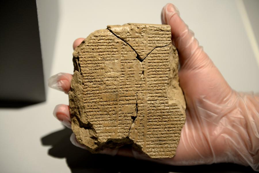 Descubren fragmentos perdidos de la Epopeya de Gilgamesh