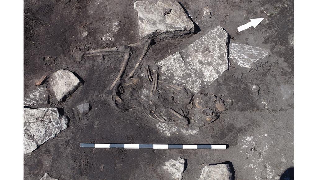 Descubren los restos de una masacre atroz en un lugar maldito de Suecia