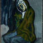 Encuentran otra pintura oculta bajo un cuadro de Picasso