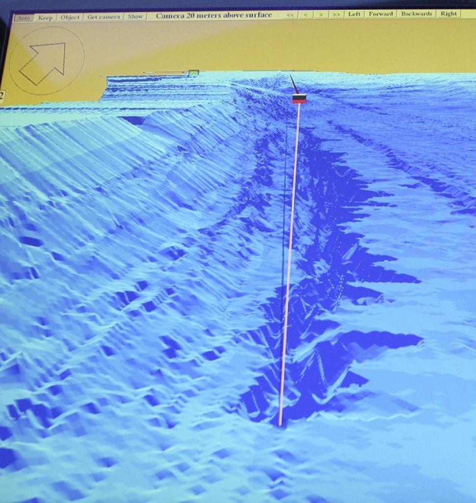 Descubren un abismo en el fondo del Lago Ness