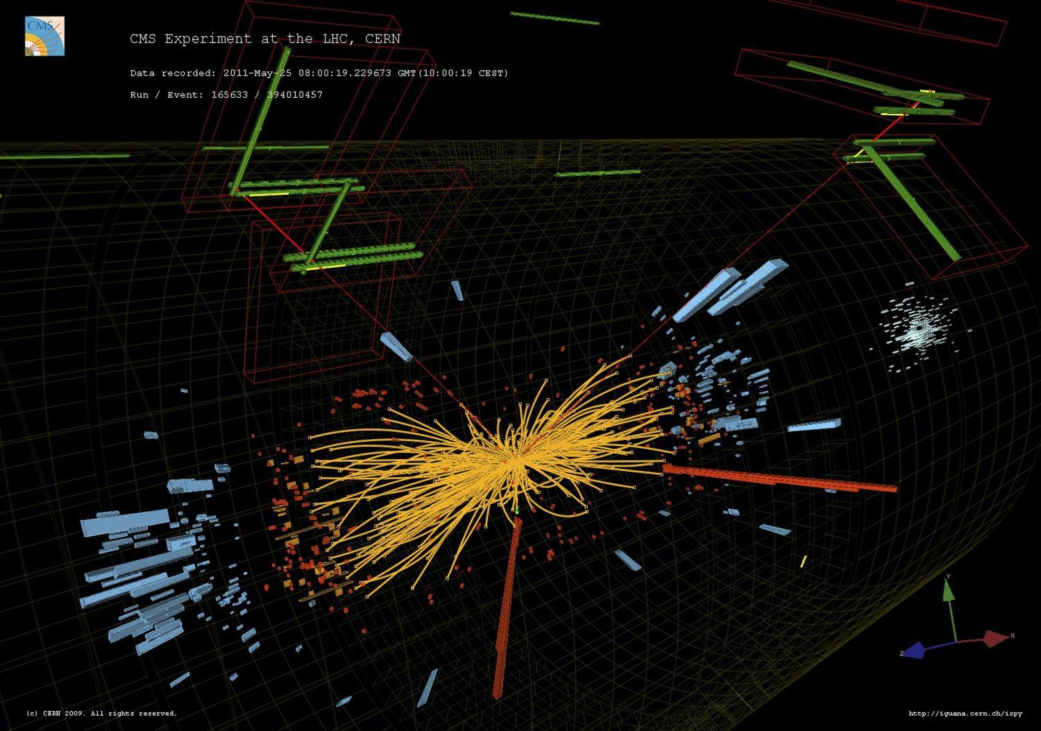 ¿Descubrieron una nueva partícula en el CERN?