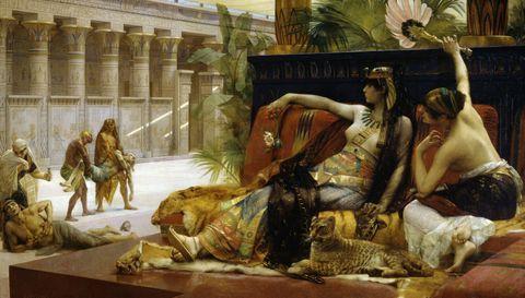 ¿Dónde está la tumba de Cleopatra?