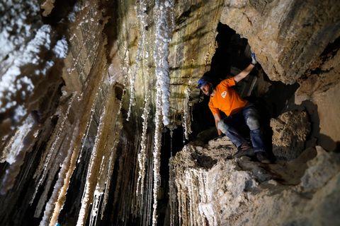 Descubren la mina de sal más grande del mundo