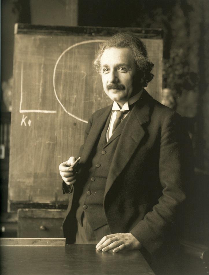 Einstein, al espacio