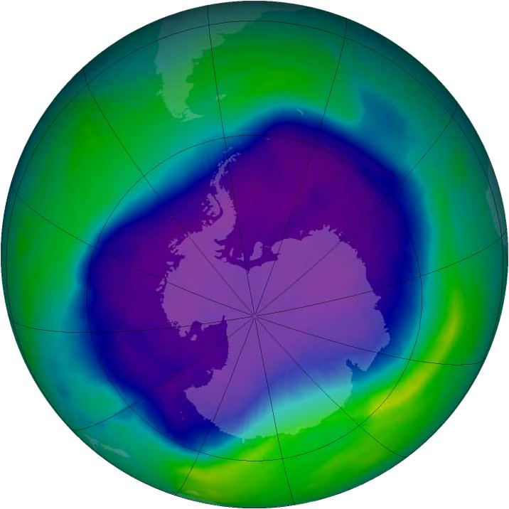 El agujero de ozono de la Antártida comienza a cerrarse