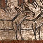 El arca de Noé aparece en unos mosaicos de Israel