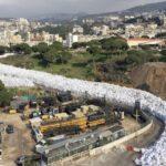 El asqueroso río de basura de Beirut