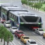 El autobús que acabará con los atascos de tráfico