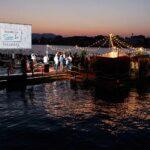 El cine de verano flotante llega a la costa alicantina