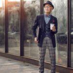 El hipster más hipster de China es un abuelo